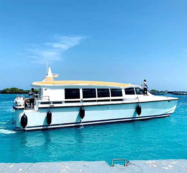 Barca Veloce Speed Boat Maldive
