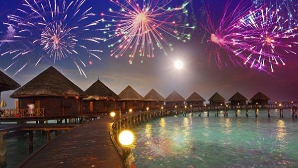 capodanno alle Maldive