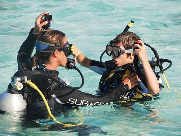 corsi diving maldive