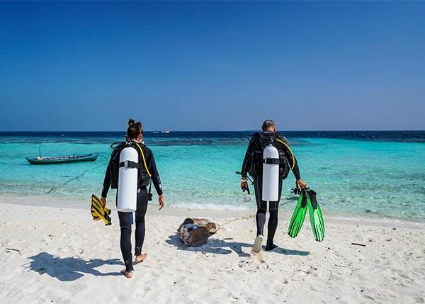 diving alle Maldive
