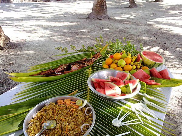 Cucina delle Maldive
