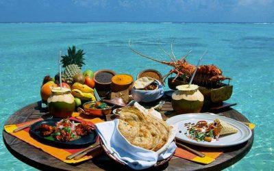 Mangiare alle Maldive