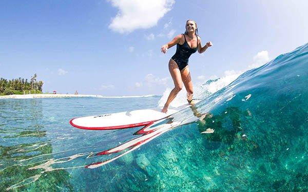 Surf Maldive Settembre