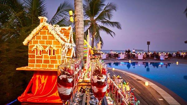 Natale Maldive sera