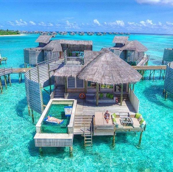 resort lusso alle Maldive