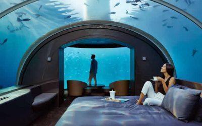 10000 euro per una notte, ma sott'acqua