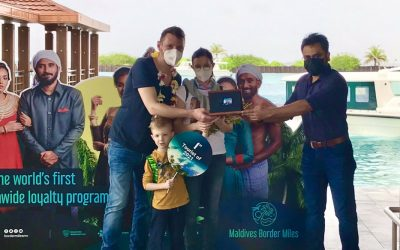 Le Maldive hanno dato il benvenuto al primo visitatore del 2021
